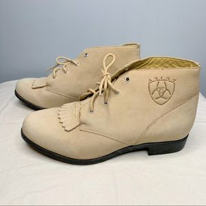 Ariat | Lace Up Leather Ankle Booties | Sz 6.5